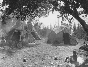 Lakota Wigwam and Tipi